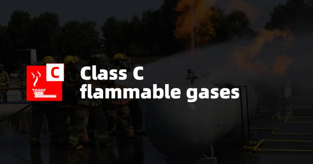 Class C Fire: Flammable Gases