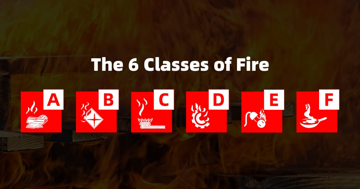 the 6 classes of fire and how to stop them 1200x630 1