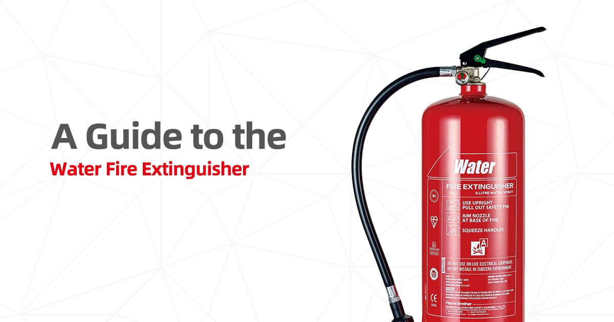 a guide to the water fire extinguisher 1200x630 1